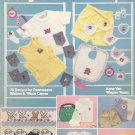 Clothing Designs for Little People Cross Stitch pattern chart leaflet Leisure Arts 259