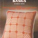 Needlepoint Basics Barbara Hunter leaflet Leisure Arts 28