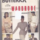 Butterick 6060 Pattern uncut 8 10 12 Jacket Skirt Pants Blouse Career Separates Vintage 1980s