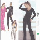Kwik Sew 3052 Pattern uncut XS - XL Catsuit Unitard Full Length Body Suit