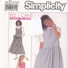 Simplicity 9475 Uncut 4 6 8 Yes I Can Learn to Sew Jumper