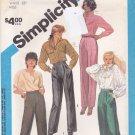 Simplicity 6528 Uncut 10 Waist 25 Pants Trousers Fuss Free Fit