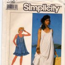 Simplicity 8681 Uncut Loose Fit Prairie Style Dress or Nightgown Medium 14 16
