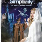 Simplicity 0591 Pattern Uncut Adult Costume Cloak Wizard's Robe Pointy Hat