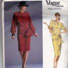 Vogue 1897 Pattern 12 Loose Fit Blouson Top Skirt Givenchy Vintage 1980s Cut Complete