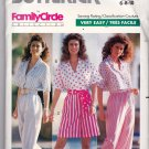 Butterick Pattern 4109 Uncut 6 8 10 Top Pants Shorts Sash