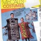 McCall's Costume Pattern 8376 Uncut Adult M 36 38 Hershey Bar Kiss Reese's