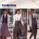 Butterick Pattern 5057 Uncut 12 14 16 Flared Skirt Split Skirt Pants