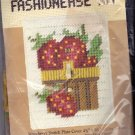 Caron Strawberry Switch Plate Cover Plastic Canvas Kit 4111 New, Old Stock