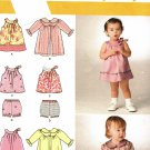 Simplicity 2668 Pattern uncut Baby Infant Dress Top Panties Coat Karen Z