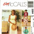 McCall's 3564 Pattern uncut 16 18 20 22 Sleeveless Empire Waist Dress Jacket