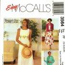 McCall's 3564 Pattern uncut 16 18 20 22 Sleeveless Empire Waist Dress Jacket