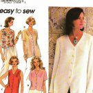 Simplicity 9506 size 16 Button Front Blouses, may be missing pieces