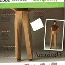Simplicity 2562 Pattern uncut 14 16 18 20 22 Amazing Fit Wide Leg Pants