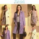 Butterick B4746 Pattern uncut 8 10 12 14 Lifestyle Wardrobe Coat Belt Skirt Pants