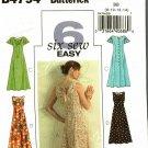 Butterick B4794 Pattern uncut 8 10 12 14 Sun Dress Lace Up Back Sleeveless Flutter Sleeves