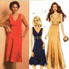 Butterick B5212 Pattern uncut 16 18 20 22 Fitted Sleeveless Crossover Dress Cocktail or Evening
