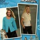 Simplicity 2652 Pattern uncut 6 8 10 12 14 Jacket in 2 Lengths Project Runway