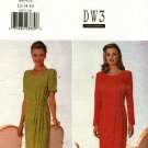 Butterick 4557 Pattern uncut 12 14 16 Mock Wrap Dress DW3 David Warren
