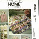 McCall's M6375 Pattern uncut Garment Bag and Organizers for Shoes Gift Wrap Bags Jewelry