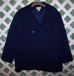 Navy Westbound II Wool Pea Coat size 3X