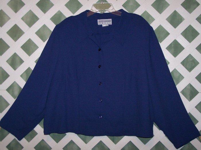 Jessica Howard Woman 2 Piece Dress Suit Size 24W