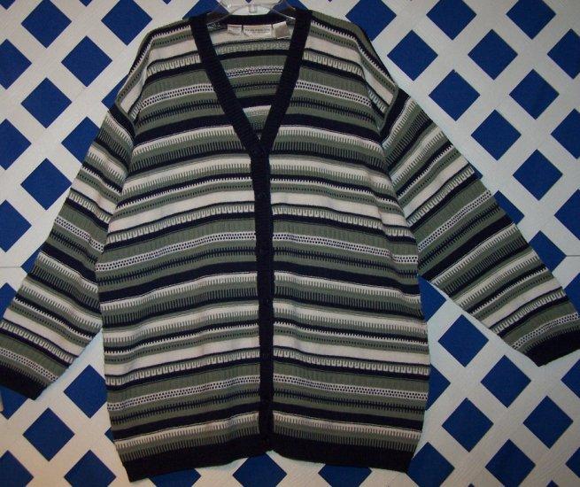 Elizabeth by Liz Claiborne Size 3 or 3X Sweater Cardigan Vest