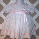 Girls Baby Togs Holiday Christmas Dress 18 Months