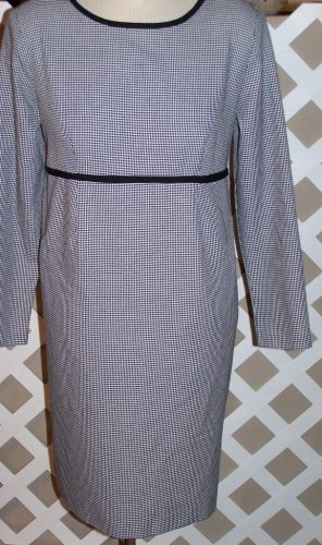 Maternity Black and White Dress Size M by Motherhood Medium