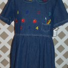 Womens Denim School Teacher Dress by Sophia Rose Size 18 NEW