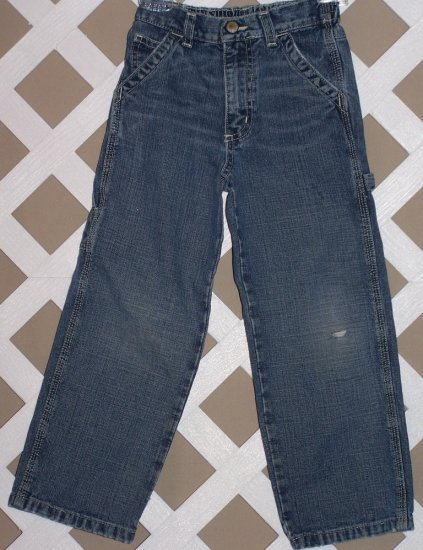 Boys Old Navy Denim Blue Carpenter Jeans Size 5T