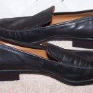 Women's Etienne Aigner Sz 8.5 Black Leather Shoes Size 8 ½