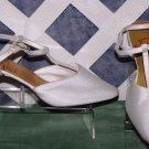 Dolce Dyeable Bridal Wedding Dress Shoes 8.5 New