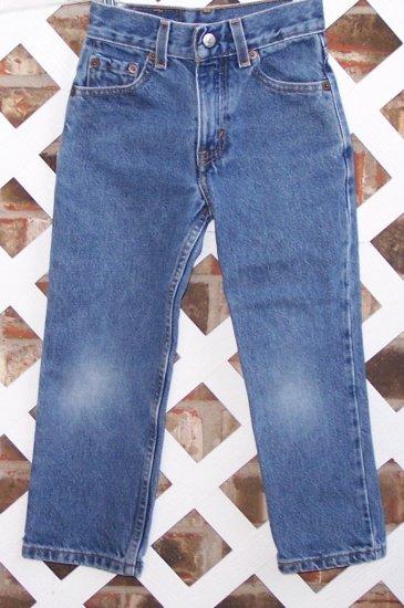 Boys Levis Denim Jeans Sz 5 BTS