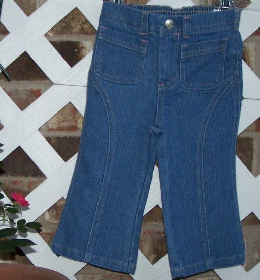 Girls Old Navy Denim Jeans 18-24 Months BTS Cute!