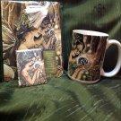 Deluxe Green Fairy 3 Piece Set Journal Mug Magnet