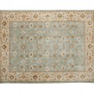 POTTERY BARN Persian Style Hand Tufted 8X10 malika Design Wool Carpet Rug