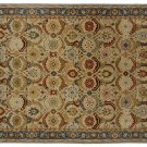 NEW POTTERY BARN Eva bage Persian Hand Tufted 8X10 Modern Design Wool Carpet Rug