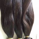 "16""18 20"" Real Raw Russian Virgin hair weaves is natural med to course"