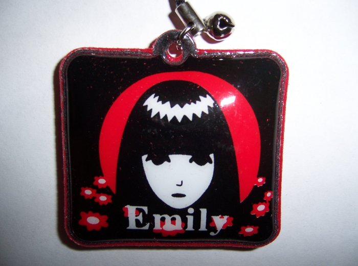 Emily The Strange Charm A for Cell Phone or Stylus
