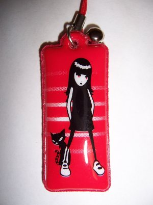 Emily The Strange Charm B for Cell Phone or Stylus