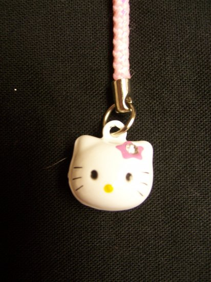 Hello Kitty Bell Cell Stylus Charm (Pink)