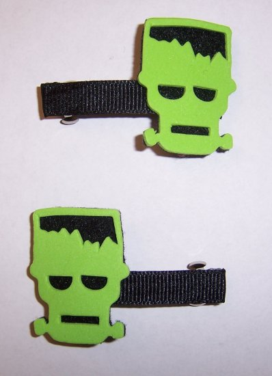 Frankenstein Barrettes