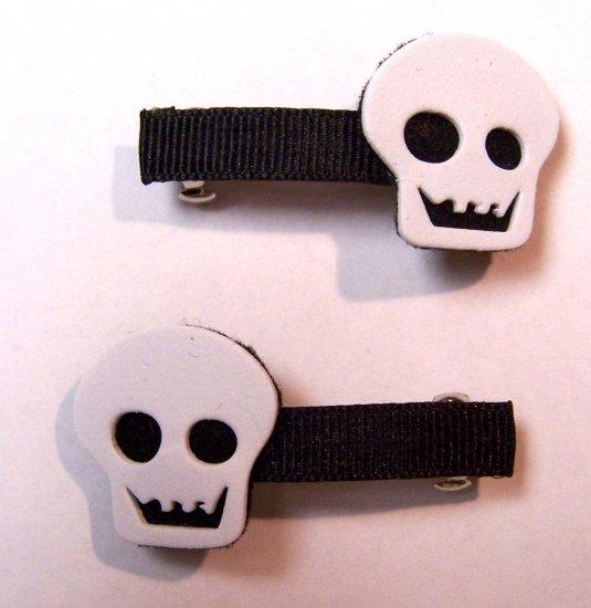 Skull Barrettes
