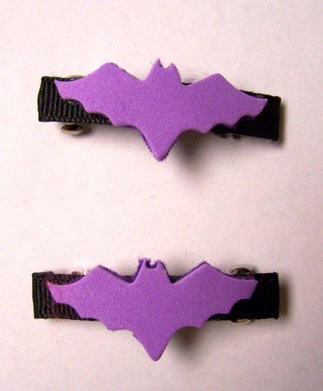 Bat Barrettes
