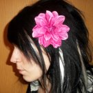 Pink Gem Dahlia Flower Barrette