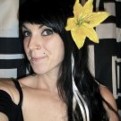 Yellow Lily Barrette