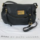 MARC BY MARC JACOBS Classic Q Natasha Black Leather Crossbody Bag