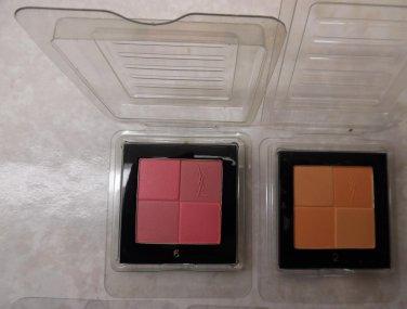 YSL Blush Radiance Radiant Blush No. 6 (Soft rose color with pop of pink) - 4 g/0.14. Oz