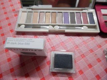 SHU UEMURA Pressed EyeshadowRefill - IR Dark Blue 690 1.4 g/0.049 Oz